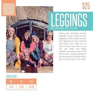 LuLaRoe Pants - NWT TC Leggings {LuLaRoe}